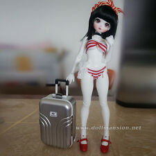 "1/6 1/4 BJD Dollfie Momoko Blythe 18"" American Girl Doll Luggage Travel Suitcase"
