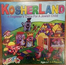 **NEW IN BOX** KOSHERLAND Jewish Educational Toys Board Game