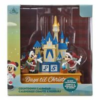 Mickey and Minnie Christmas Countdown Calendar Castle DISNEY BRAND NEW