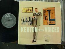 "Stan Kenton + Ann Richards etc: ""Kenton con voces"". 1957 Capitol Mono.!! casi Como Nuevo!!!"