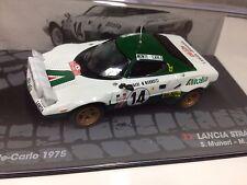LANCIA STRATOS HF RALLY MONTE CARLO 1975 MUNARI 1:43 RALLY DIECAST CAR - IXO