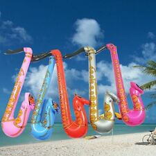 Blow Up Rock&Roll Music Saxophone Inflatable Disco Toy 70cm