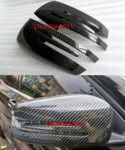 Rearview Side Mirrors Cover trim for 12-15 Benz A B Class W176 W246 Mirror ABS