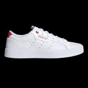 Adidas Originals Sleek Super (Women's Size 9) Athletic Shoe White Casual Sneaker