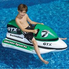 NEW Swimline Wet Ski GTX Ride On Inflatable Pool Lake Beach Water Toy 9027