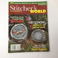 Stitcher's World Magazine November 2005 Victorian Village Holiday Quilts