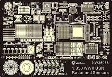 Alliance NW 35068 x 1/350  WWII USN Shipborne Radar & Sensor Set