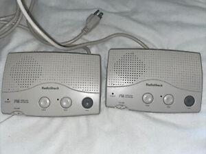Radio Shack FM Wireless Intercom Model 43-493 Set Of 2 Tested And Working