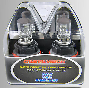 9007 HB5 12V 60/55W Direct Replacement For Auto Factory Halogen Light Bulbs
