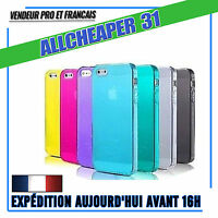 COQUE IPHONE SE 5 5S 5C 4 4S ETUI HOUSSE FILM DE PROTECTION ECRAN CHIFFON NETTE