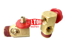 Air Tank Manifold air comrpessor portable air tanks with safety valve (2 Packs)
