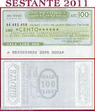 BANCA CATTOLICA DEL VENETO Lire 100 21.12. 1976 ASSOC. COMMERCIANTI VICENZA B181
