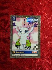 Bandai Digimon Trading Card 9 of 32 Gatomon Series 2 Silver Stamp