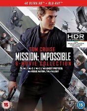 Mission: Impossible - The 6-movie Collection (4K Ultra HD + Blu-ray + Bonus Di