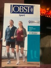 Jobst Sport Knee High Socks 20-30mmHg Grey X-Large
