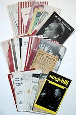 44 Chicago Playbills & Programs, 1912-1979