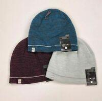 Alfani Mens Beanie Hat Winter Reflective Ski Cap One Size Variety Colors