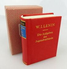 Mini libro: W.I. Lenin las tareas de asociaciones juveniles Offizin andersen Nexö bu0840