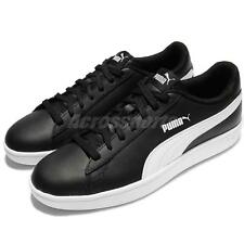 Puma Smash V2 L Black White Men Classic Shoes Sneakers Trainers 365215-04