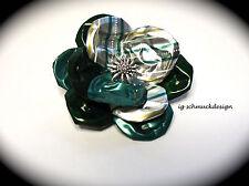 Modeschmuck-Halsketten & -Anhänger aus Aluminium mit floralen Themen