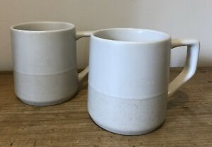 Teavana Starbucks Mugs X2 8FL OZ
