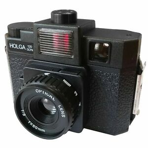HOLGA 120GCFN 120 / 6x6 Film Camera - Glass Lens / Colour Flash - BRAND NEW UK