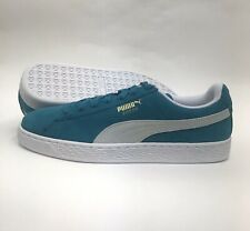 e00b0e91c24 NIB Men s PUMA 365347 13 Ocean Depths Suede Classic Shoes Sz 8.5