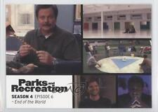 2013 Press Pass Parks and Recreation Seasons 1-4 #52 End of the World Card 2a1