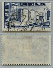 REPUBBLICA - 1952 - U - 60 lire 30° Fiera di Milano (685)