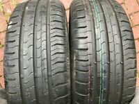 2 x 185 55 15 CONTINENTAL CONTI ECO CONTACT 5 TYRES 185/55 R15 86H EXTRA LOAD