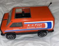Tonka A.J Foyt Racing Team Pressed Steel Van Vintage Nice!