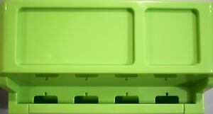 Cable Management Cord Organizer Box to Hide Wires & Plugs, Green, Free Shipping!