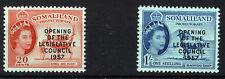 SOMALILAND 1957 LEGISLATIVE COUNCIL SG149/150  MNH