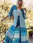 Arnhem NEW Florence Kimono in Aoura Blue Size XS/S ~ Boho Gypsy Beach Festival