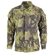 Original Czech army troops field jacket leaf camo pattern parka military surplus