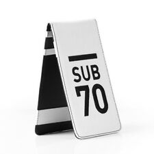 2018 Limited Edition Sub70 Tour Golf Flip Scorecard Yardage Book Holder Handmade