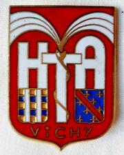 Hopital VICHY insigne militaire service Santé FIA émail authentique