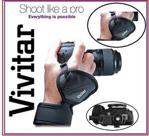 Pro Vivitar Hand Grip Wrist Strap For Panasonic Lumix DC-S1 DC-G95 DC-S1H DC-G9