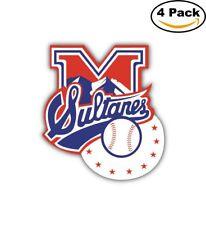 Sultanes de Monterrey MILB Minor Baseball MLB Car Bumper Sticker 4X5