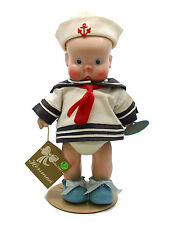 Vintage 1988 Horsman Hebee-Shebee Boy Sailor Doll Reproduction Vinyl Cute
