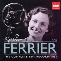 KATHLEEN FERRIER - THE COMPLETE EMI RECORDINGS 3 CD NEU Mahler/Bach/Gluck/+