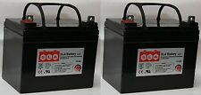 (Two) 12V 35AH U1 Sealed Lead Acid Deep Cycle Battery UB12350 D5722 Pride Jazzy