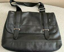 Laptop Bag Black w/ Green Trim MINI Cooper by Puma Shoulder Bag With Wear
