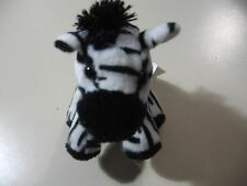 "5"" plush bean bag Zebra doll, made by Wild Republic, good condition"