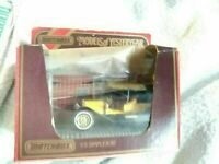 DIECAST MODEL MATCHBOX YESTERYEAR CAR VINTAGE CLASSIC  Y9 SIMPLEX 50