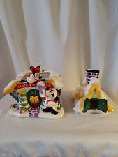 Disney Santa's Workshop Cookie Jar Mickey Minnie Donald Goofy Pluto 2000 Walt