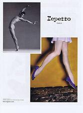 PUBLICITE ADVERTISING 064 2010 REPETTO chaussures avec Vincent Chaillet danseur