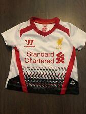 Baby Boys Warrior Liverpool F C Football Top 3-6 Months Vgc Standard Chartered