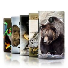 STUFF4 Back Case/Cover/Skin for Microsoft Lumia 532/Wildlife Animals