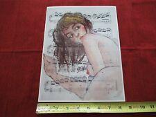 VINTAGE RARE PHOTO of ART of EGON SCHIELE AUSTRIAN PAINTER KLIMT protege #lob-E